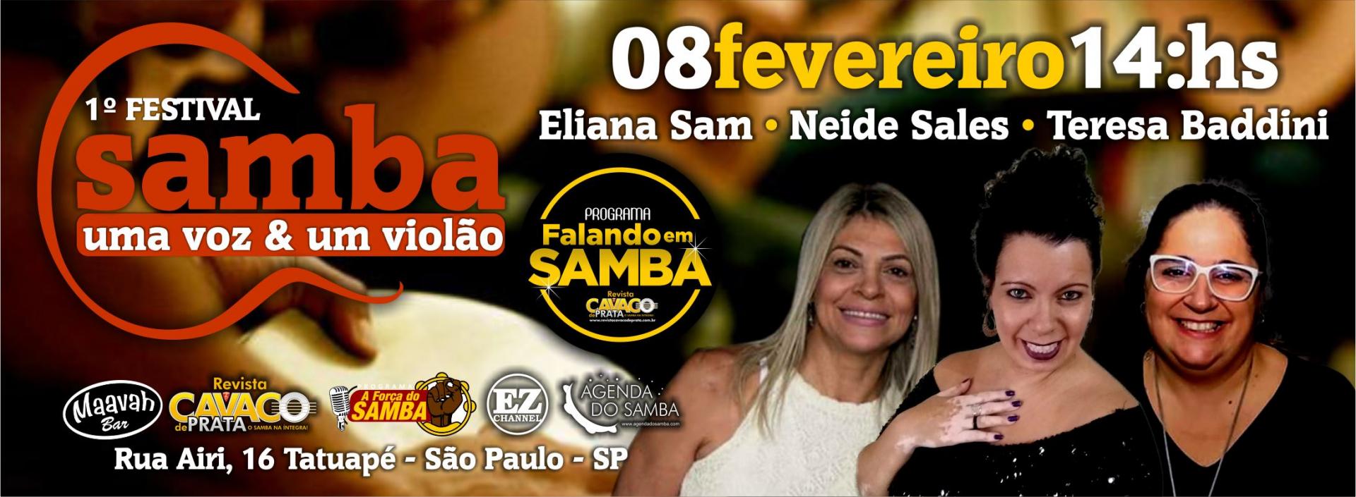 1º Festival Samba Uma Voz e Um Violão