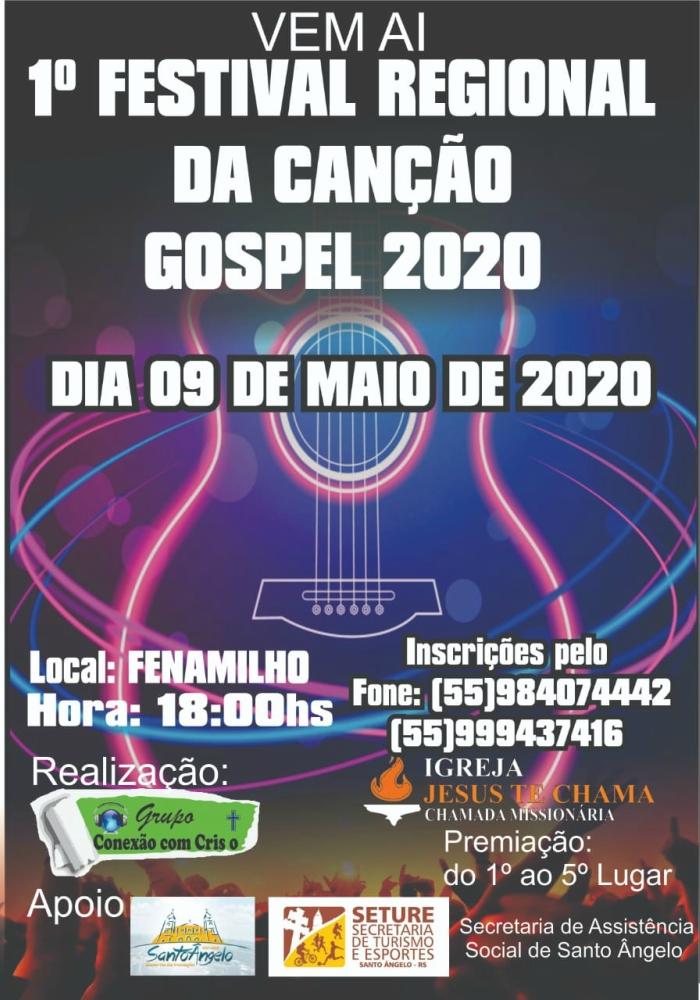 1º Festival de Música Regional da Canção Gospel