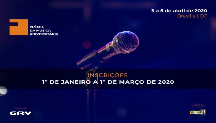 Concurso de música Prêmio da Música Universitária